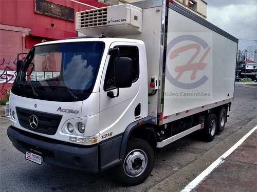 Mb 1316 Truck 2016 Refrigerado -18c
