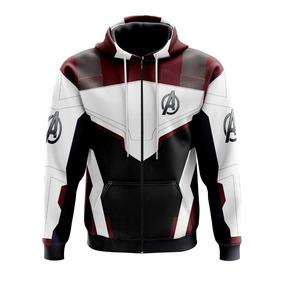Blusa Com Zíper Dos Avengers-vingadores-super Herois