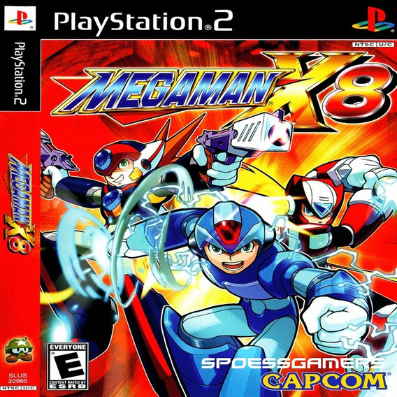 Megaman X8 Ps2 Desbloqueado Patch