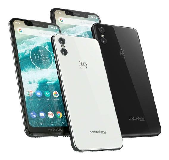 Celular Motorola Moto One 64gb 4gb Gtia Oficial Full Envios