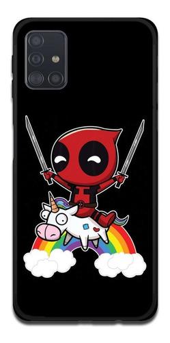 Imagen 1 de 1 de Funda Samsung A31 A21s A11 Deadpool 11