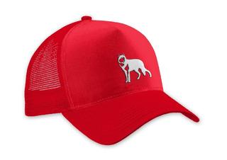 Trucker Cap Lobo Branco Vip Red