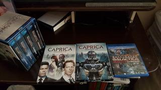 Série Completa Battlestar Galactica Original Blu-ray E Dvd