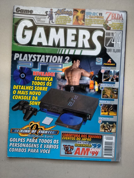 Revista Gamers 44 King Of Fighters Soul Reaver Ps2 D269