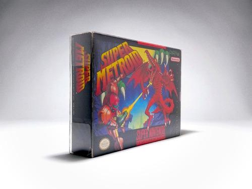 Protectores Super Nintendo Snes N64 Juegos Pack X 5