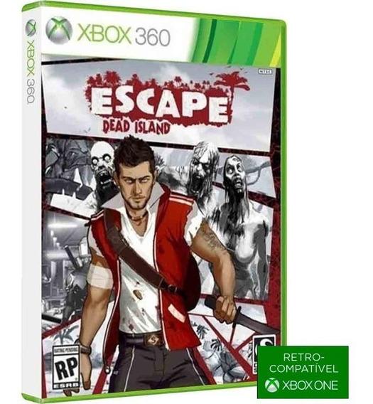 Escape Dead Island - Midia Fisica Original E Lacrado - ( Retrocompativel Com Xbox One ) - Xbox 360