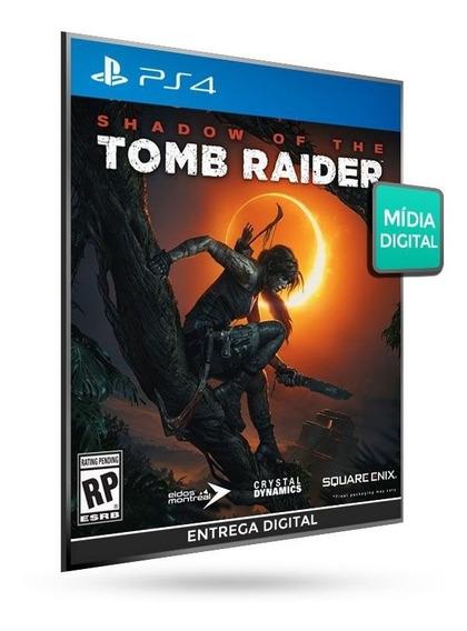 Shadow Of The Tomb Raider_mídia Digital_ps4