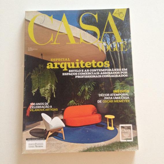 Revista Casa Vogue 354 2.2015 Especial Arquitetos Espaços C2