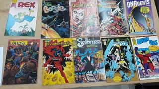 Hqs Americanas Editoras Independentes 10 Exemplares 80s 90s