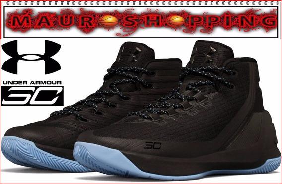 Tenis Basketball Under Armour Curry 3 Botas Baloncesto Nba