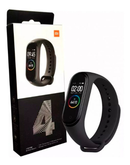 Smart Pulseira Relógio Inteligente Xiaomi Band 4 Global Orig