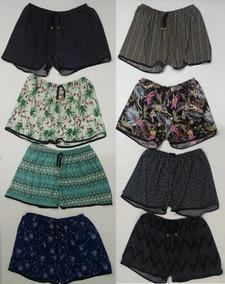 Kit 20 Short Feminino Liganete Tamanho Especial Soltinha