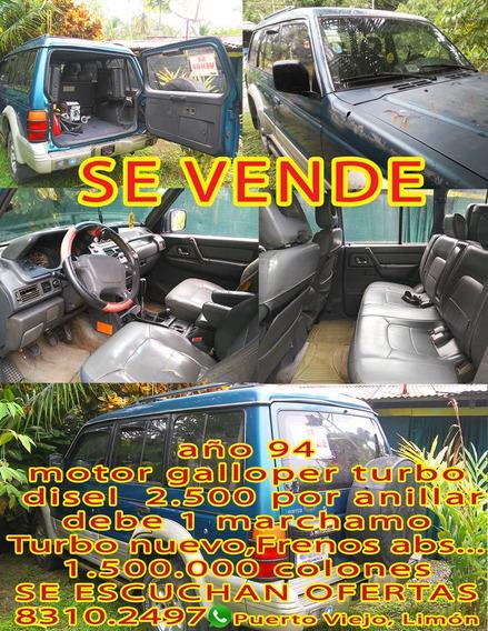 Montero Con Motor Galloper Td 2500