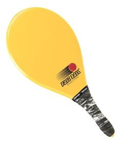 Raquete De Frescobol Fast Ball Evolution Amarela