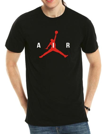Playera Estilo Air Jordan Logo + Envio Gratis