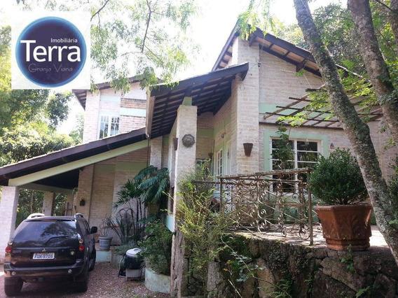 Casa Residencial À Venda, Vila Real Moinho Velho, Granja Viana. - Ca0771