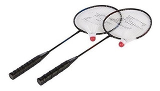 Set De 2 Raquetas De Badminton Eastpoint 6 Gallitos Extras