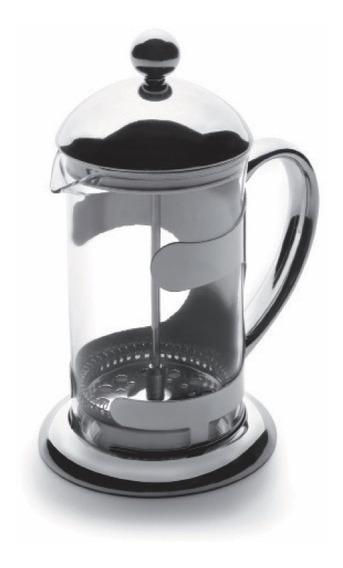 Noblik Tetera Tetera de Acero Inoxidable Filtro Cafetera T/é Caf/é Plata 1500Ml
