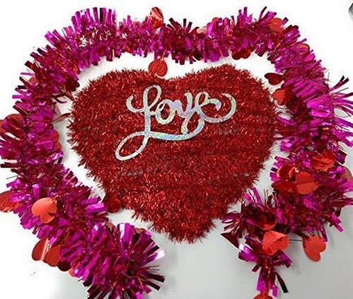 Imagen 1 de 4 de Feliz Dia De San Valentin Placas De Pared Decoracion De H