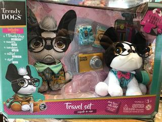 Trendy Dogs Louis Conjunto De Viaje Jugueteria El Pehuen