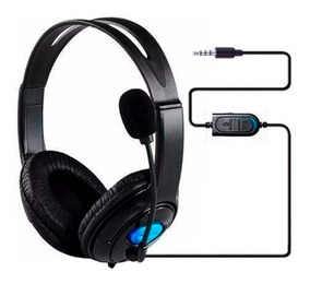 Headset Fone De Ouvido Com Microfone Ps4 Playstation P2 H12