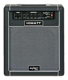 Amplificador Combo P/ Bajo 20 Watts Hiwatt Maxwatt B20