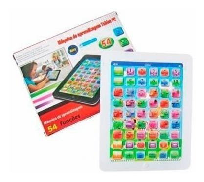 Tablet Infantil Com 54 Funções - Educativo Em Até 10 Vezes!