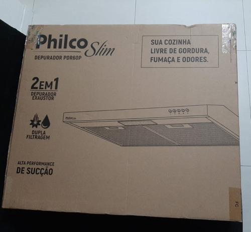 Depurador Exaustor Philco Slim (2 Em 1)