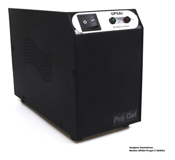 Estabilizador Tensão 110v Geladeira Side By Side & Freezer Consulte Ideal