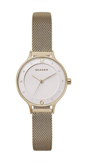 Relógio Skagen Feminino Rosé Anita - Skw2650/4bn