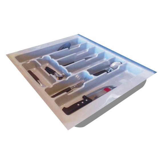 Cubiertero Organizador Pvc Cocina De 44x49cm C/envio