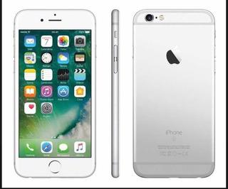 iPhone 6, Com Touch Id, 128 Gb, Prateado, Seminovo.