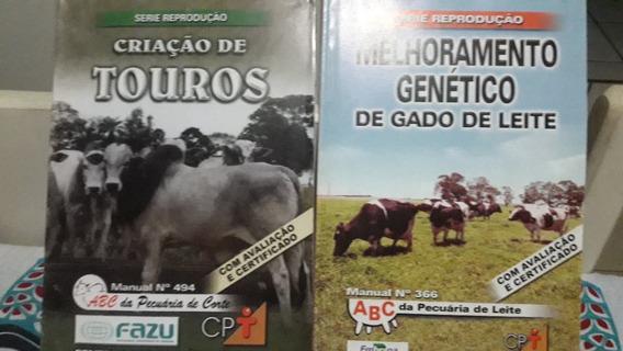 5 Apostilas Técnicas Do Cpt - Pecuária - Coelhos -touros