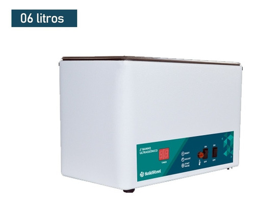 Banho Ultrassônico Digital 6 Litros - Solidsteel