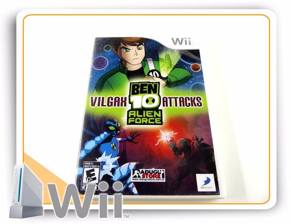 Ben 10 Alien Force Vilgax Attacks Original Nintendo Wii