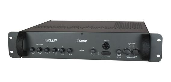 Som Ambiente 600w Equalizador 3 Bandas Pwm70v2ch Ll Áudio