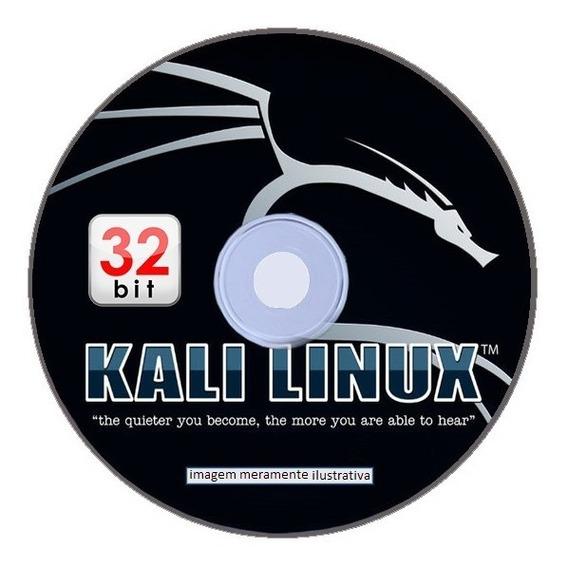 Live/cd Kali Linux 2019.2 32-bit (envio Carta Registrada)