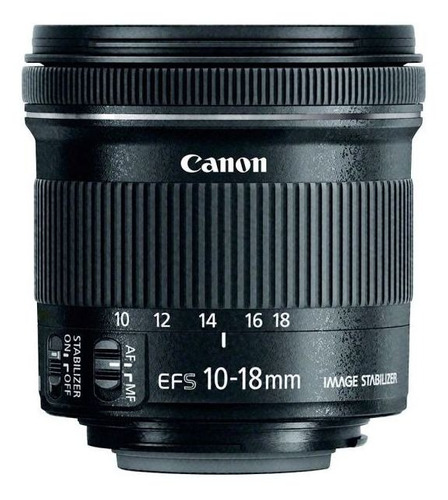 Canon Zoom Grande Angular Ef-s 10-18mm F/4.5-5.6 Is Stm