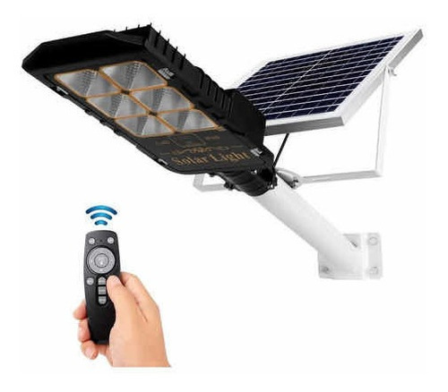 Lámpara Luminaria Led Solar Alumbrado Publico 200w