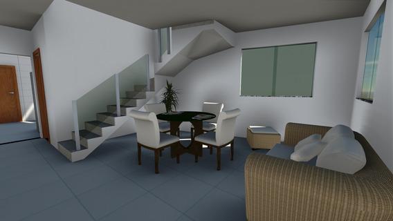 Casa Geminada Nova 3 Quartos, 100m² B. Vitória - 700