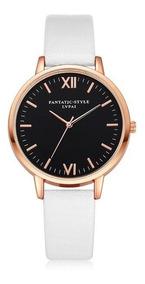 Relógio De Pulso Feminino Barato Luxo Rose Gold
