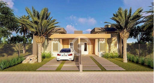 Imagem 1 de 3 de Casa Com 2 Dormitórios À Venda, 67 M² Por R$ 355.000,00 - Bela Vista - Dois Irmãos/rs - Ca1108