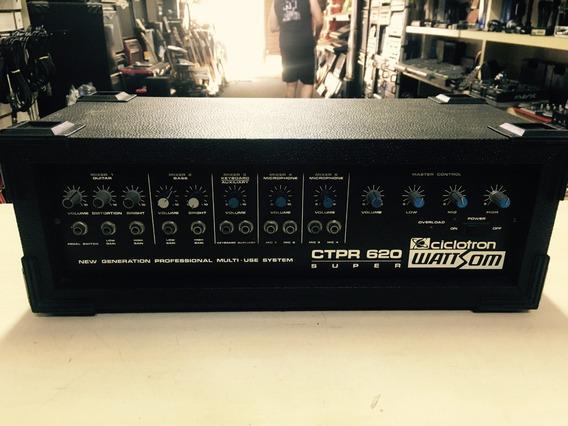 Amplificador Potencia Ciclotron Wattsom Ctpr 620 Loja Jarbas