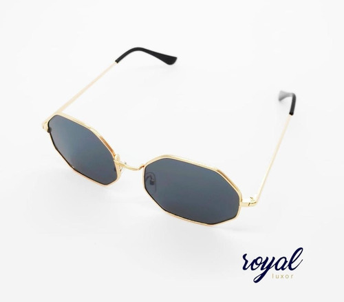 Óculos Hexagonal Masculino Feminino Unissex Royal Luxor Lupa
