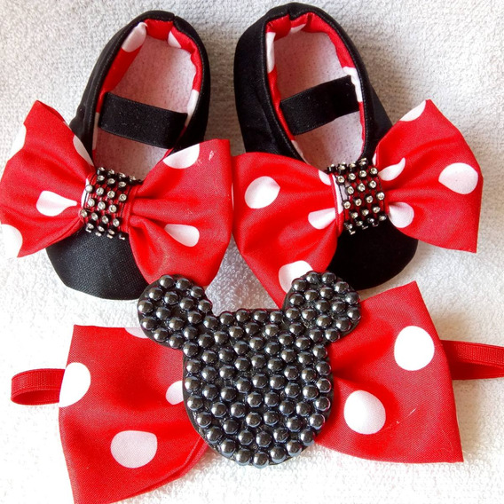 Zapatitos Minnie No Caminantes