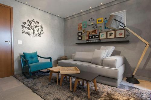 Imagem 1 de 28 de Apartamento À Venda, 1 Quarto, 1 Suíte, 1 Vaga, Centro - Vespasiano/mg - 20