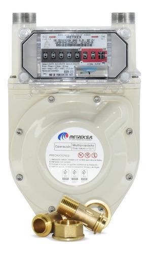 Medidor Metrex Para Gas L.p.  Uso Doméstico Modelo G1-6