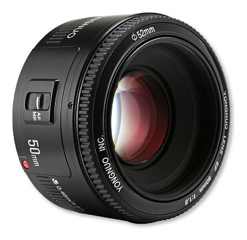 Lente Yongnuo 50 Mm F/1.8 Para Canon.