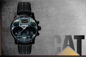 Relógio De Pulso Personalizado Logo Painel Cat Caterpillar 0