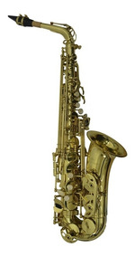 Saxofon Alto Laqueado De Grado Profesional Orich De Paquete
